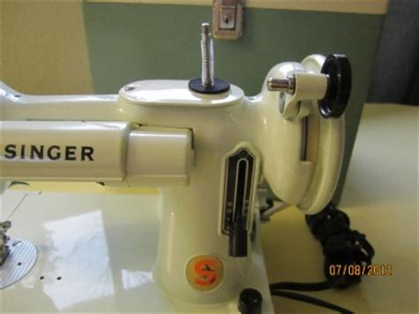Quilting Attachment For Sewing Machine by Singer 221k Featherweight White Sewing Quilting Machine Attachments Xtras Ebay