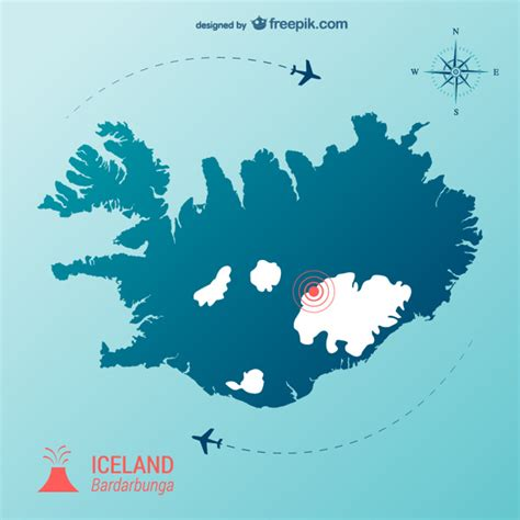 iceland map vector iceland vectors photos and psd files free
