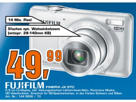 Kamera Fujifilm Finepix Jx370 saturn prospekt zum 2 mai 2012 bilder screenshots
