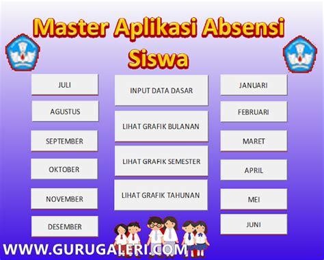 download format absensi guru excel download aplikasi absensi siswa format excel dengan