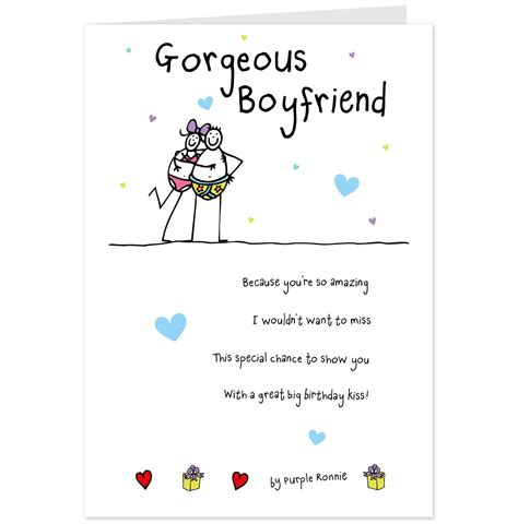 Birthday Cards For Boyfriend Hallmark Cards Greetings Cards And Gifts