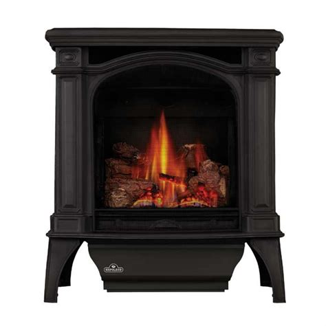 napoleon bayfield direct vent cast iron gas stove w