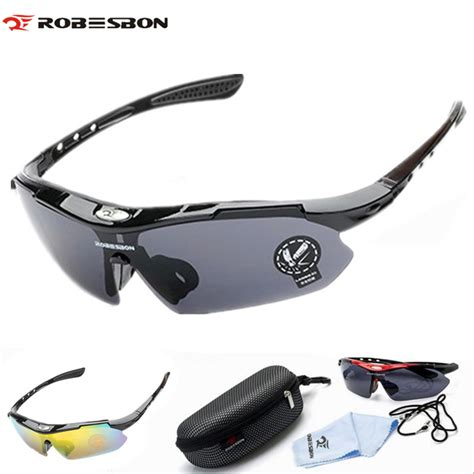 Kacamata Sepeda Outdoor Sport Bicycle Glasses Eyewear robesbon cycling eyewear pc glasses outdoor sport bicycle cycling sunglasses mtb bike ciclismo