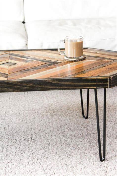 handmade wood coffee table pallet furniture diy