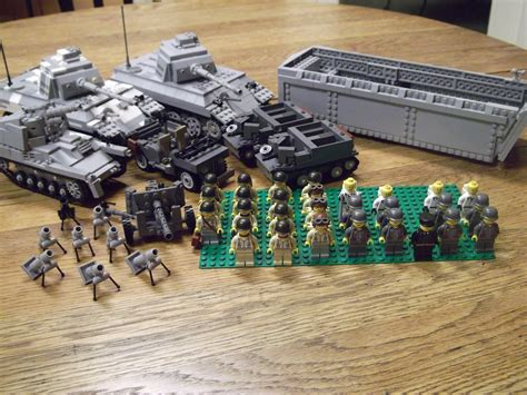 lego army boats lego ww2 army my arms everything except the higgins