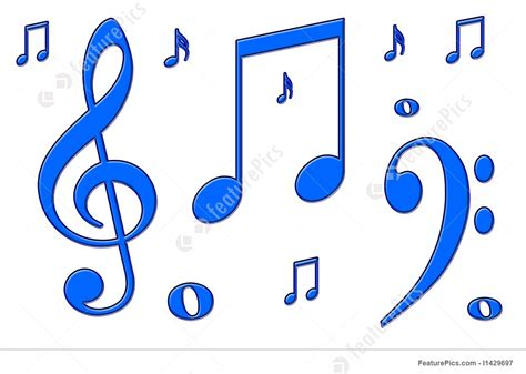 song from blue illustration of blue musical notes
