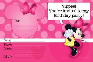minnie mouse invitation template free studio design