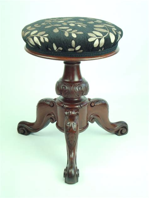 Piano Stool Antique by Antique Rise And Fall Piano Stool 237935