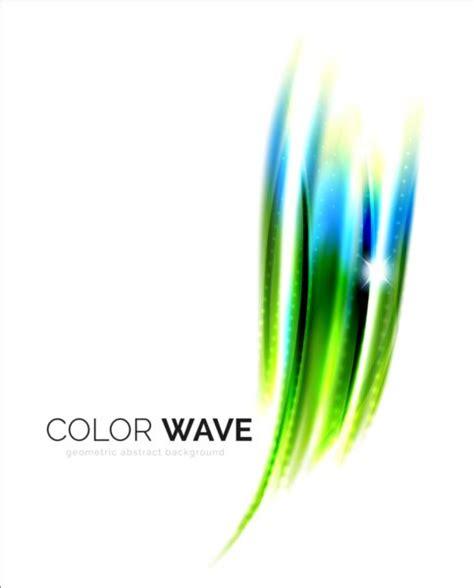 material design wave effect color light wave effect backgrounds vector 07 vector