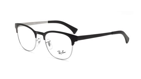 Designer Glasses Rayban Rx6317 ban clubmaster black rx6317 rb6317 2832 49 20