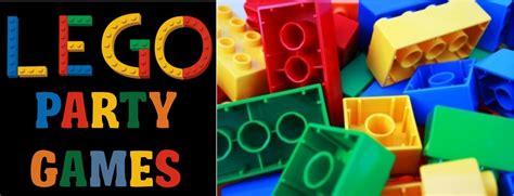 lego themed birthday games fun lego birthday party theme games