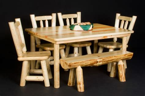viking dining table dining tables cabin tables lodge fine log farm table rustic cabin dining room furntiure