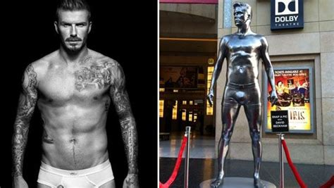 Beckham Immortalized by 301 Moved Permanently