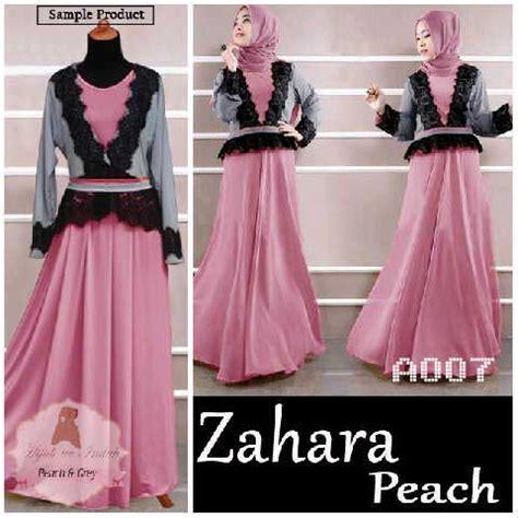Dress Lengan Serut Baju Muslim Maxi Dress Talita Maxi baju muslim modern zahara a007 blazer model gamis remaja