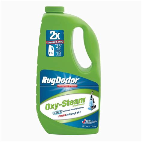 rug doctor home depot rug doctor 64 oz oxy steam carpet cleaner 04110 the home depot