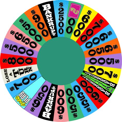 wheel of fortune template file wheel of fortune 1 template season 31 png