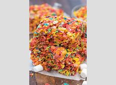 Fruity Pebble Krispie Treats - Crazy for Crust Now And Later Candy Flavors