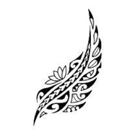 tribal fern tattoo best 25 new zealand ideas on koru