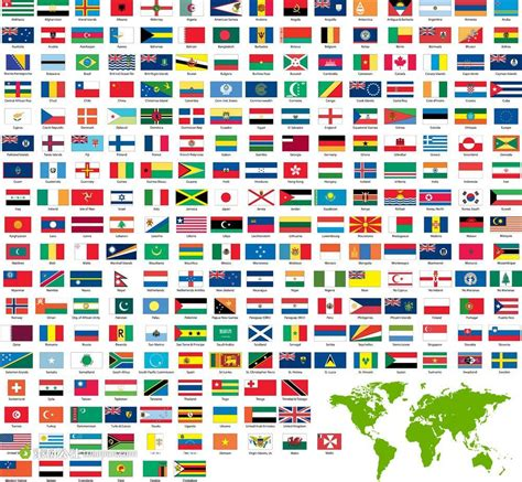Flags Of The World Without Names | 世界各国国旗素材 素材公社 tooopen com