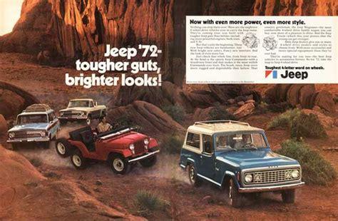 Jeep Advert 1972 Jeep Ad 01