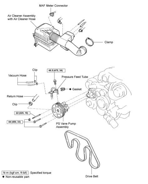 repair guides power steering pump removal installation autozone com repair guides power steering pump removal installation autozone com