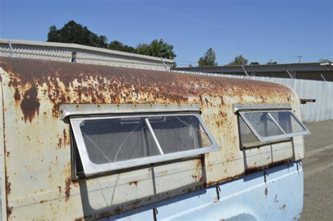 vintage cer awning fleetsie vtg camper shell canopy hot rod rat custom patina