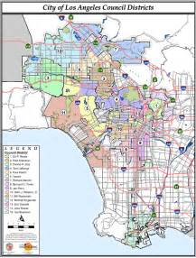 file map of la city council districts png wikimedia commons
