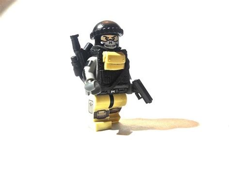 Lego Speciall Forces lego special forces unit with skull mask legos