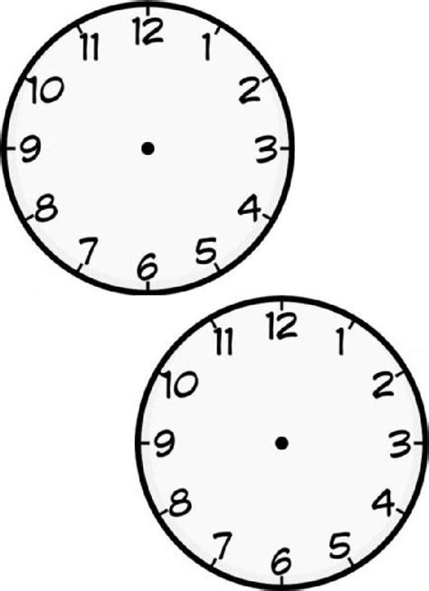 printable clock paddles 103 best images about time on pinterest