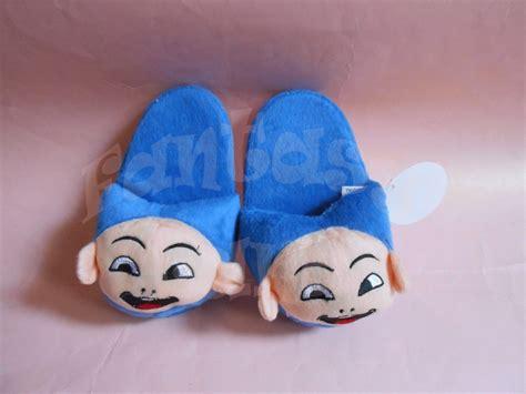 Sendal Boneka Anak 1 jual sandal kamar boneka anak karakter lucu ukuran medium land
