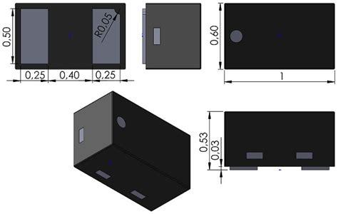 diodes inc contact dfn100x60x53 2 diodes inc x1 dfn1006 2 pcb 3d