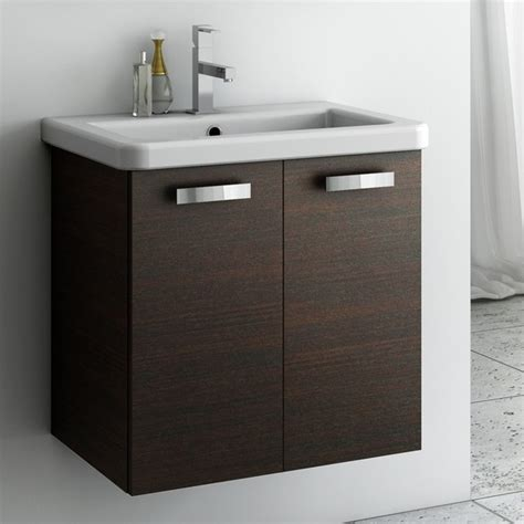 22 Inch Bathroom Vanity 22 Inch Vanity Cabinet With Fitted Sink Contemporary Bathroom Vanities And Sink Consoles