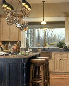 perfect rustic kitchen island lighting on2go