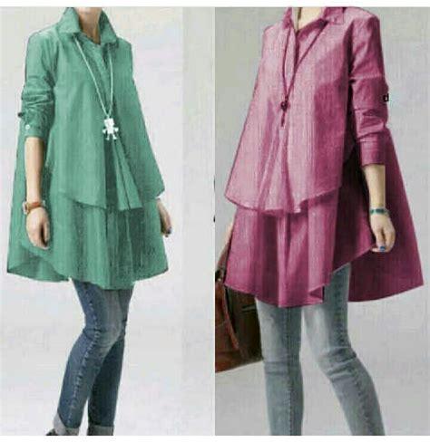 Baju Polos Atasan Kaos Mangset Murah Wanita model baju atasan wanita lengan panjang polos cantik modis