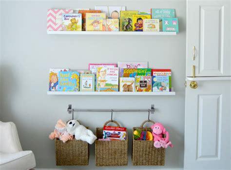 Baby Wall Shelf by Clever Nursery Organization Ideas Project Nursery