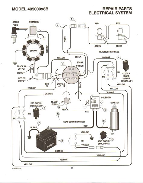 small engine ignition wiring diagram wiring diagram with