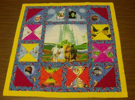 Wizard Of Oz Quilt Fabric by Wizard Of Oz Cotton Fabric 34 Quot W X 38 Quot L Baby Blanket