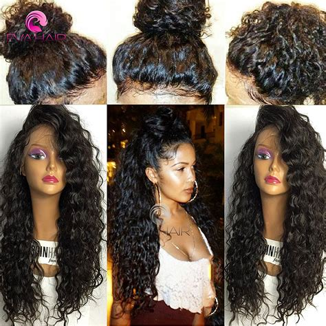 wet and wavy hair long on one side and tapered on the side 6 best black human hair wigs best human hair wigs review