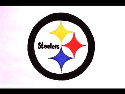 Steelers Helmet Drawing