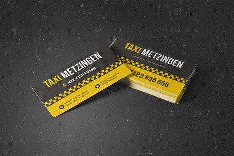 Visitenkarten Taxi by Taxi Visitenkarte Designbomb
