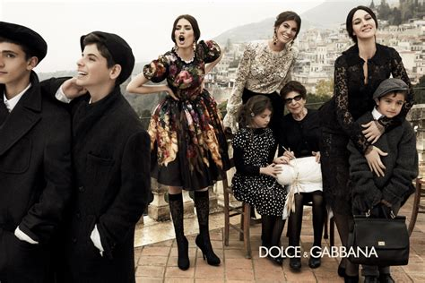 dolce and gabbano dolce gabbana fall 2012 ad caign style