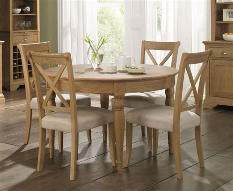table and chairs hstead oak 120cm extending dining table and chairs uk