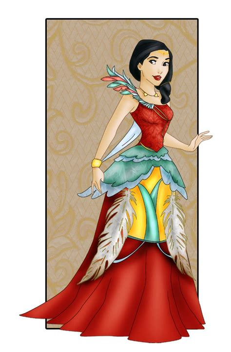 Boneka Disney Princess Pocahontas pocahontas new dress by sonala deviantart on