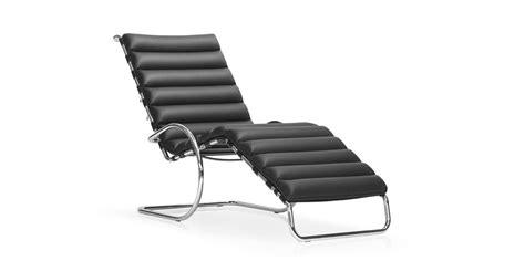 chaise longue  van ludwig mies van der rohe