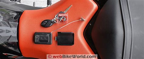Cyclone Motorcycle Alarm   webBikeWorld