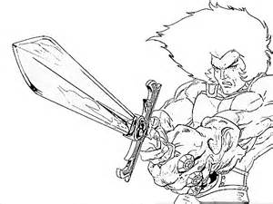 thundercats printable coloring pages pagesjpg sketch template