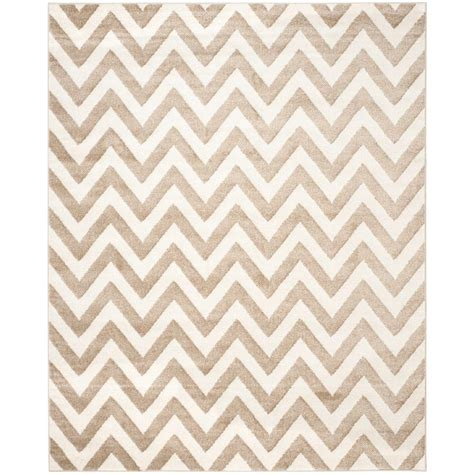10 x 14 outdoor rug safavieh amherst wheat beige 10 ft x 14 ft indoor outdoor area rug amt419s 10 the home depot