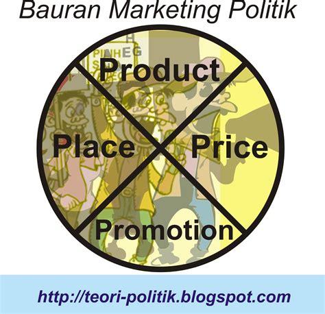bauran marketing politik teori politik