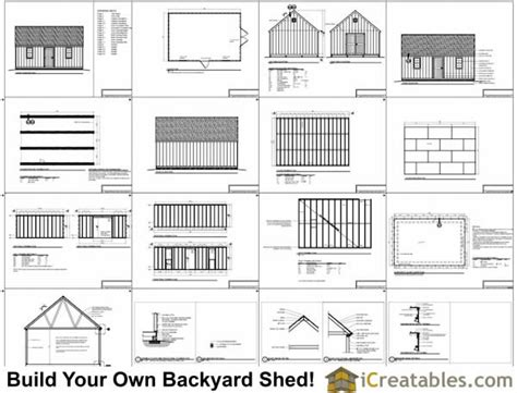 Shed Plans And Material List Free by 16x24 Shed Materials List Studio Design Gallery