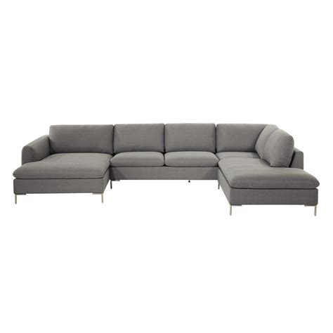 7 seater couch fabric 7 seater corner sofa light grey city maisons du